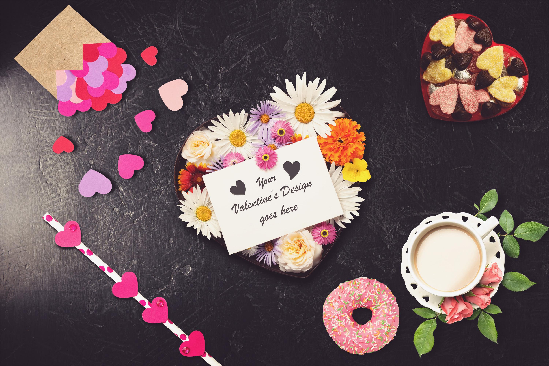 Valentine Card Mock-up #8 example image 1