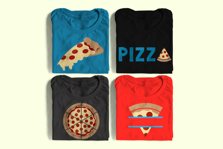 Pepperoni Pizza SVG File Set example image 1