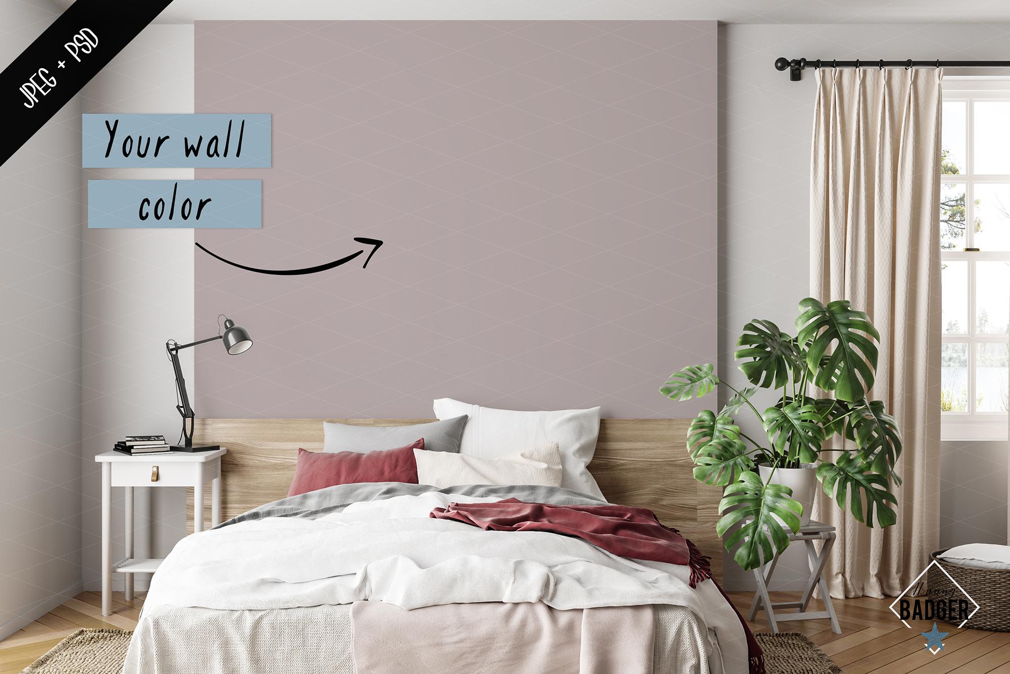 Interior mockup BUNDLE - frame & wall mockup creator example image 8