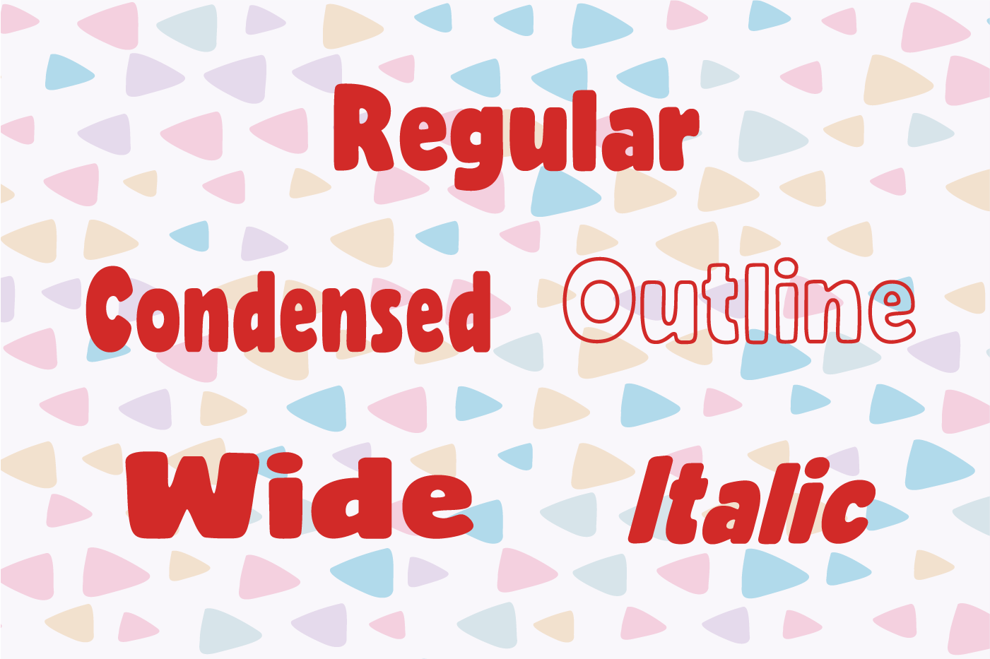 Rocco Font Family example image 2