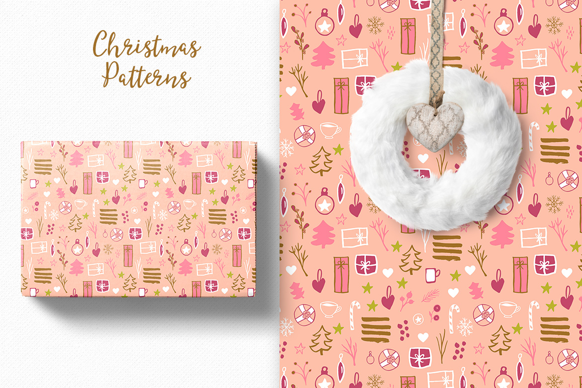 Christmas Pattern Collection example image 5