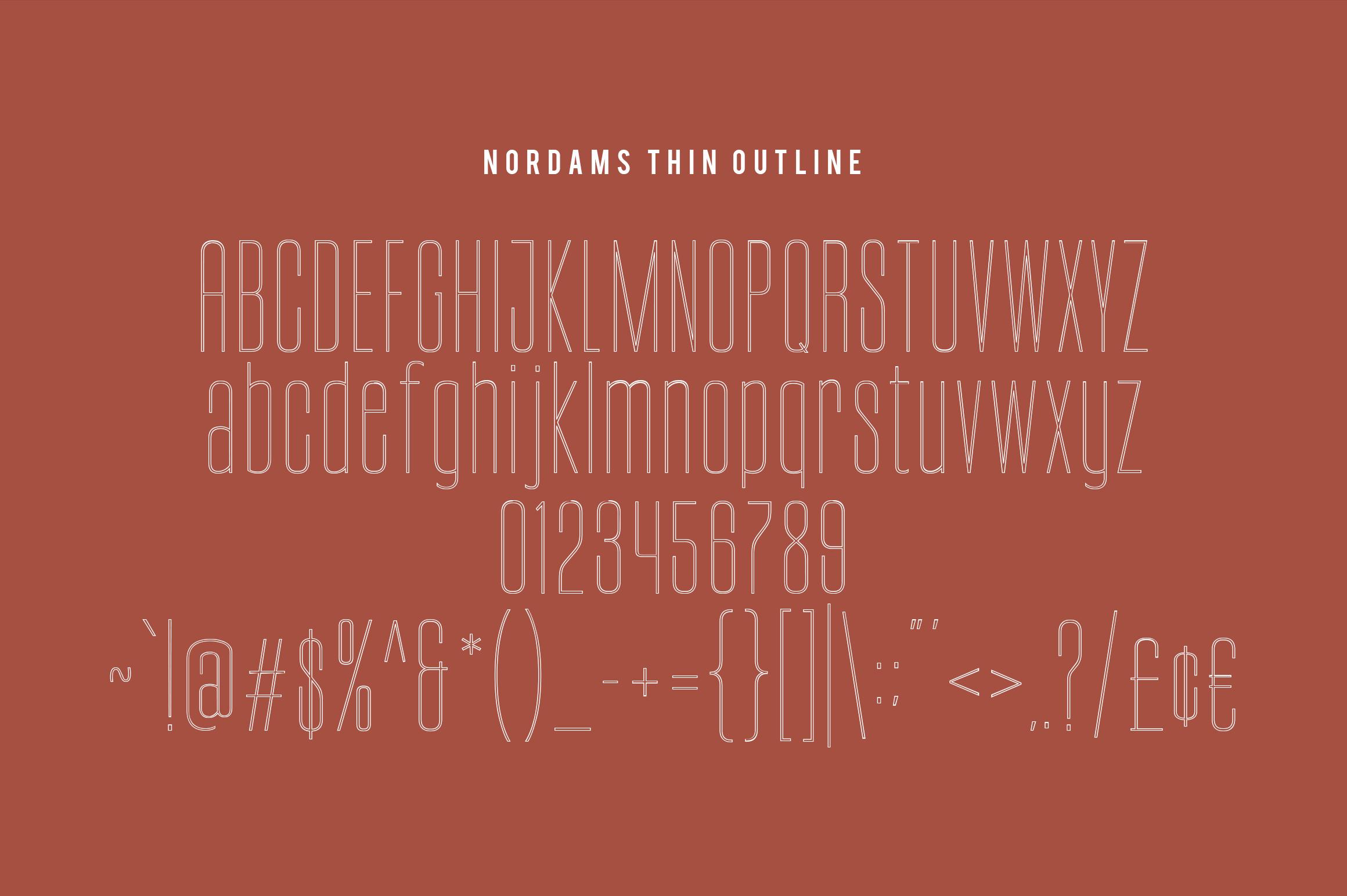 NORDAMS - Sans Serif example image 19