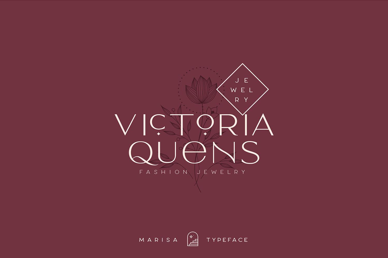 Classy Marisa - Elegant Fashion Stylish Typeface example image 15
