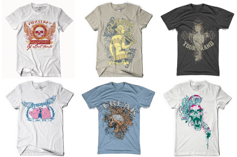 100 T-shirt Designs Vol 1 example image 12