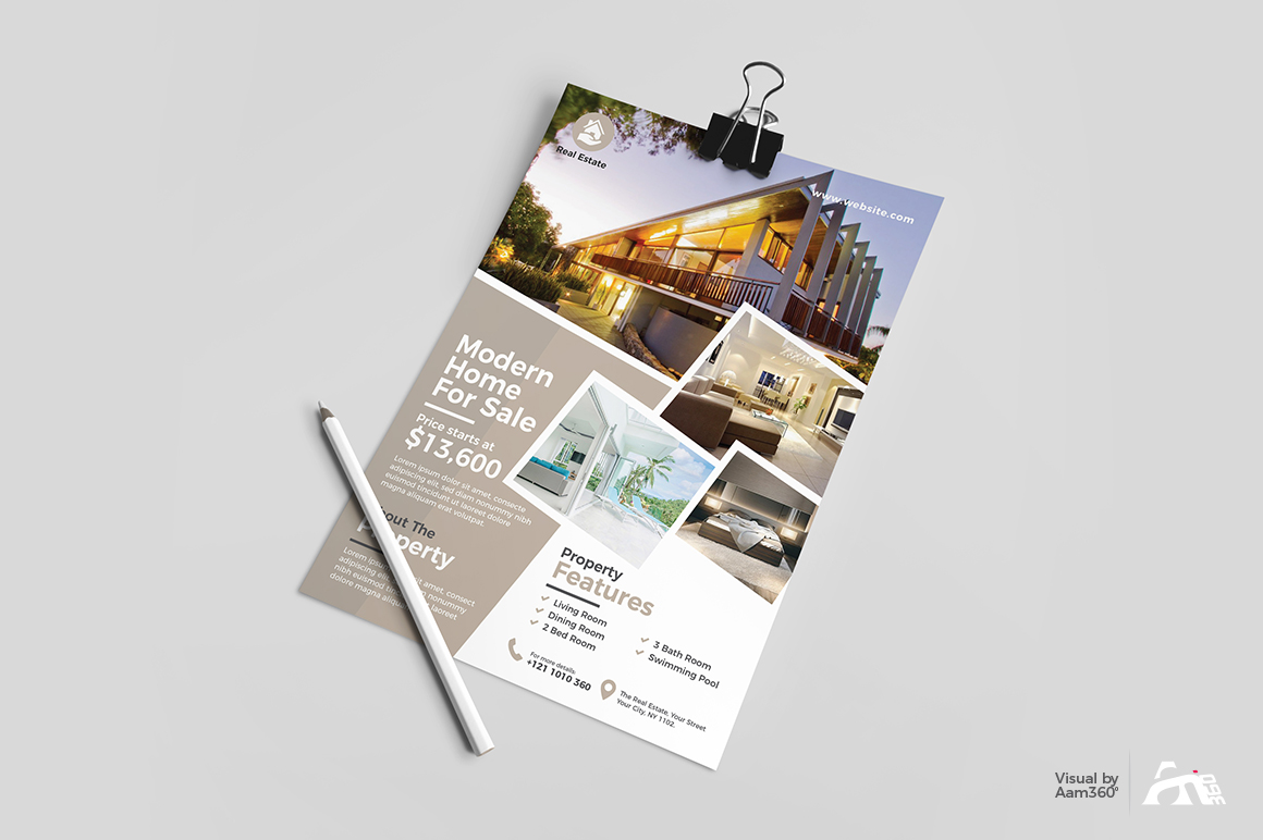 Real Estate Flyer example image 3