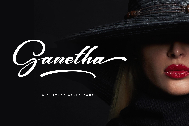 Ganetha Font example image 1