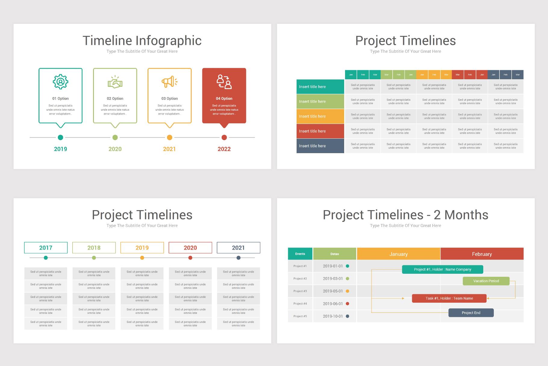 Keynote Timeline Infographics Pack-2 example image 11