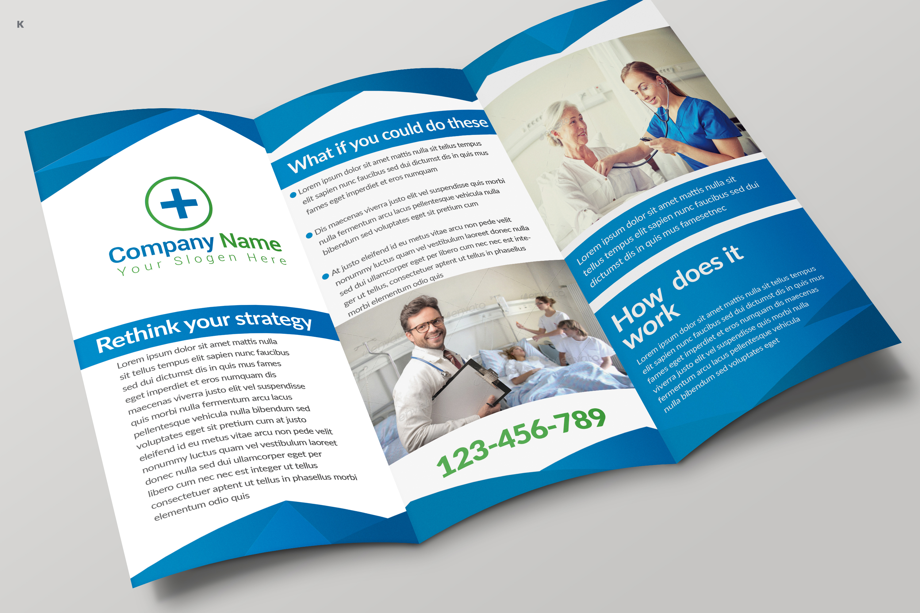Health Care Trifold example image 5