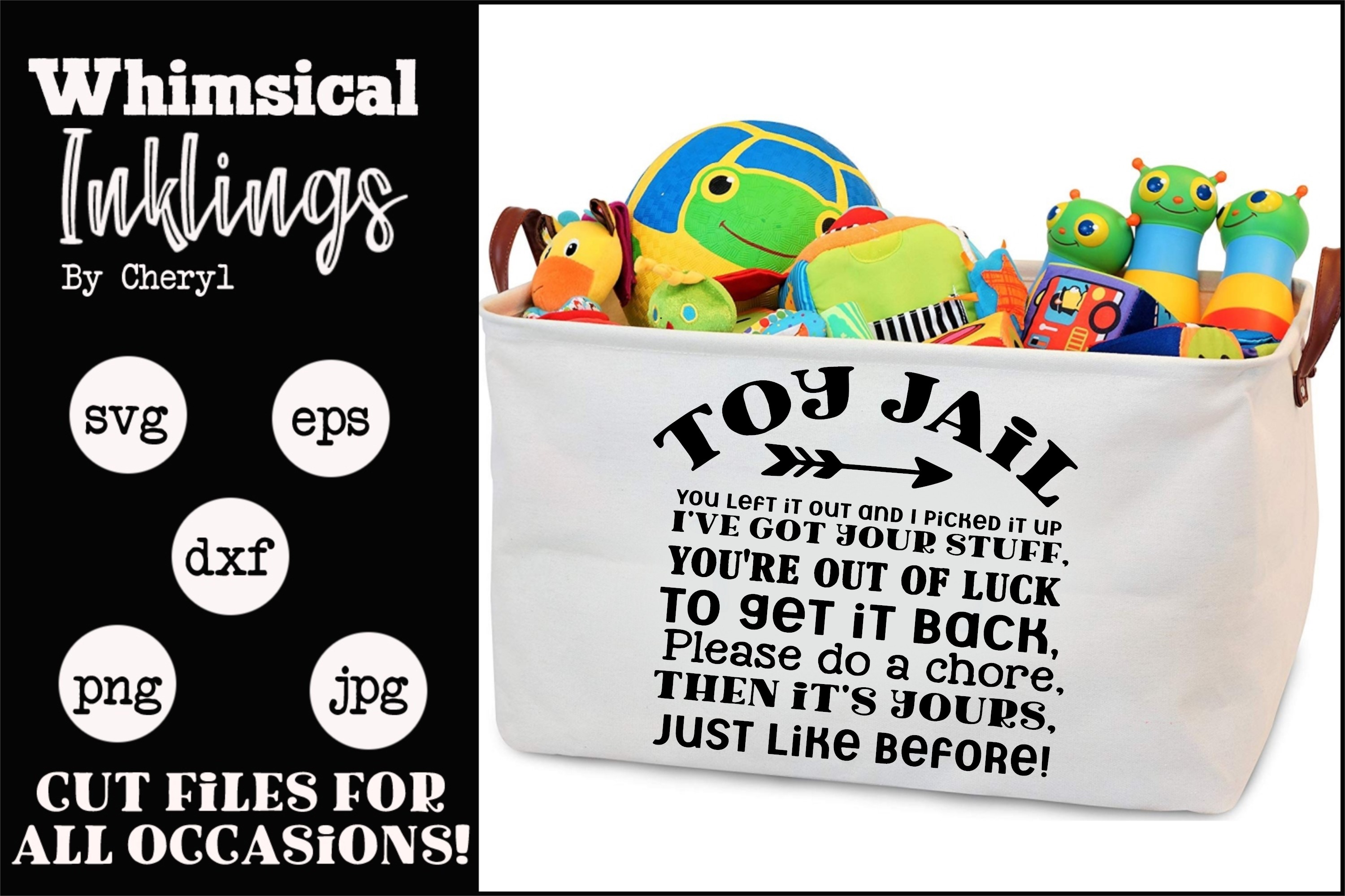 Toy Jail SVG example image 1