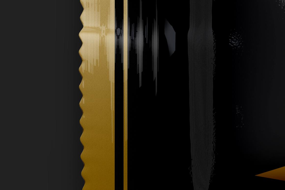Black Glossy Snack Bar Mockup 80g example image 3