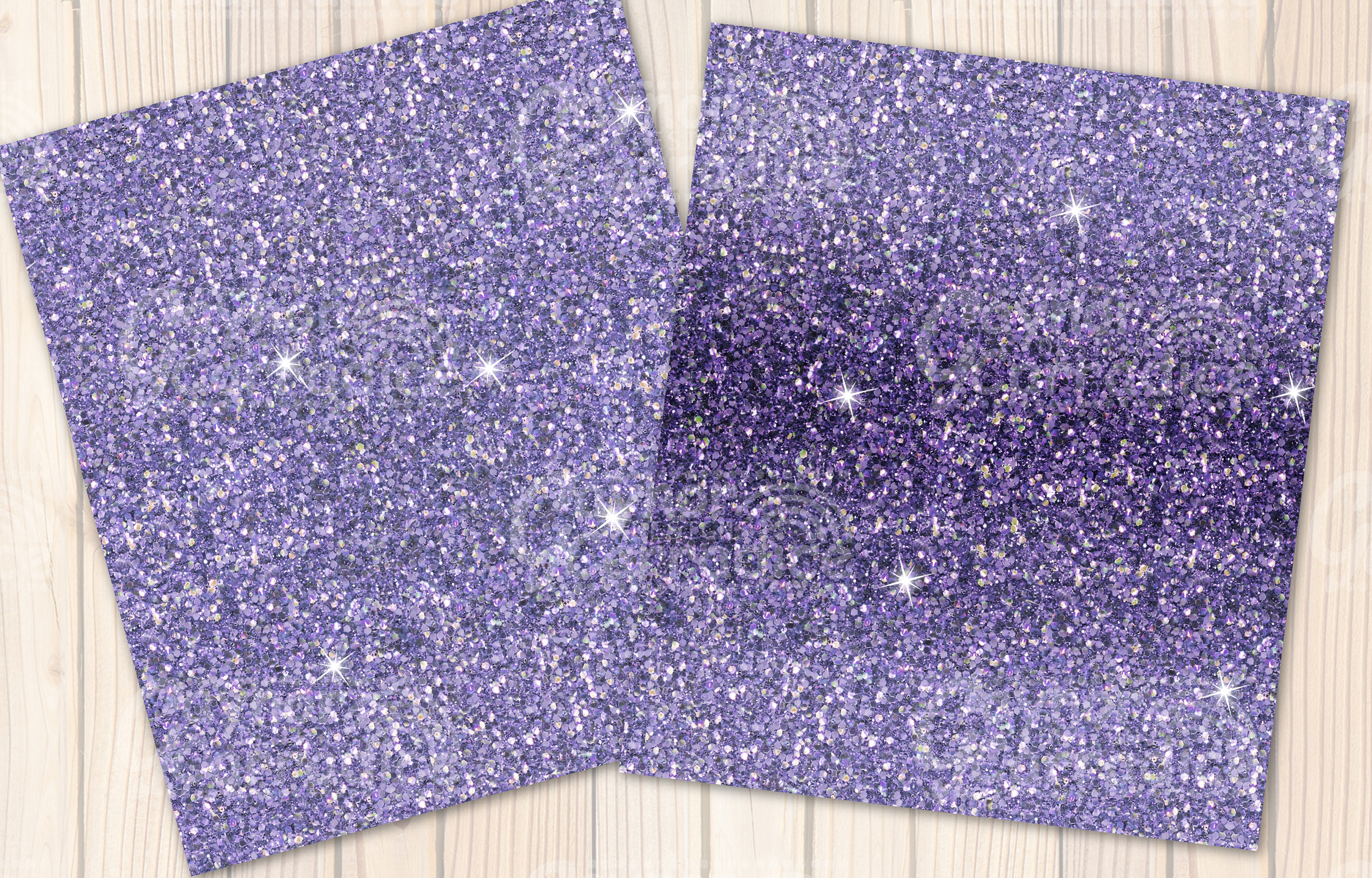 Provence- purple Glitter backgrounds example image 6