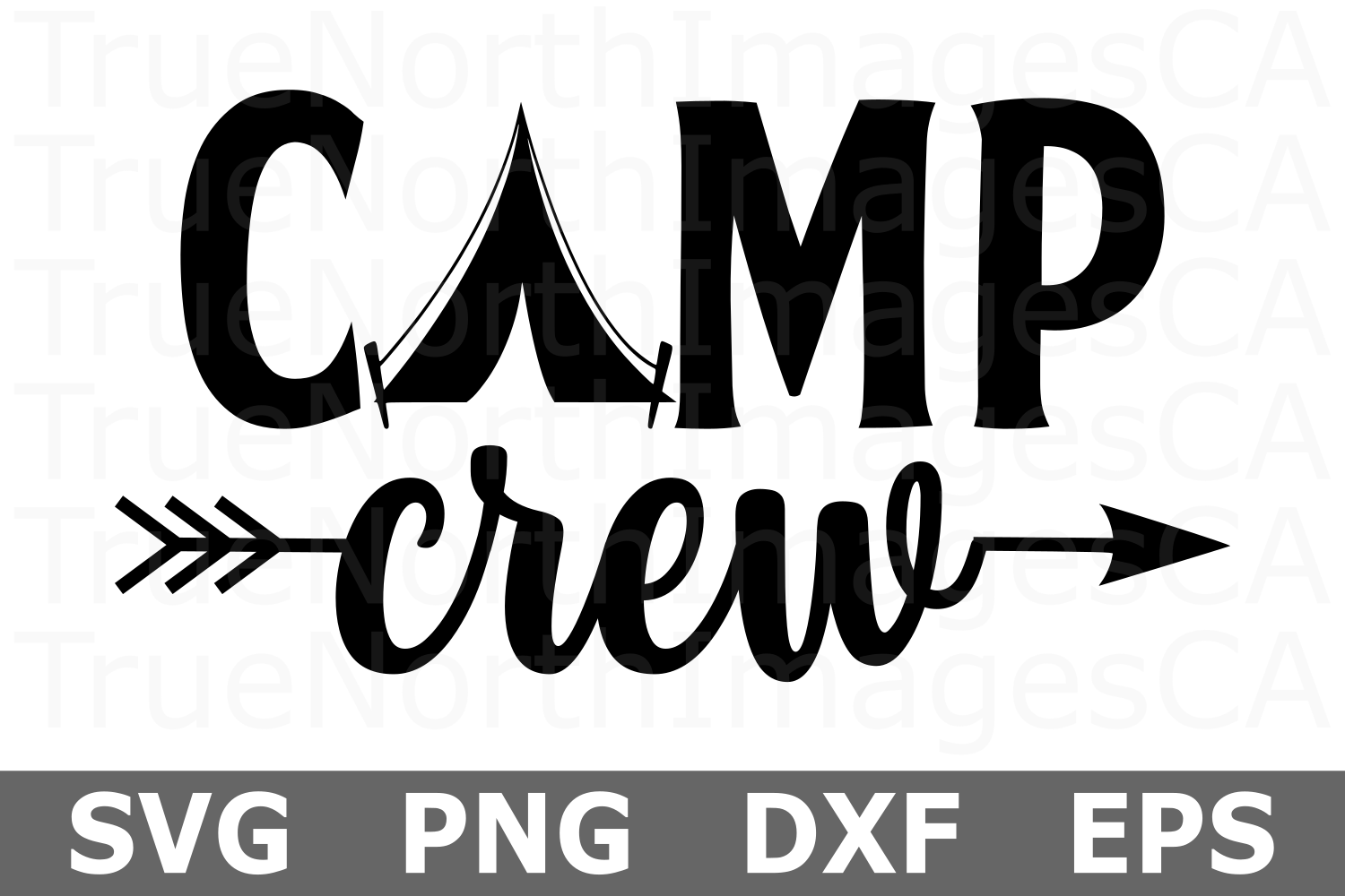 Camp Crew - A Camping SVG File example image 2