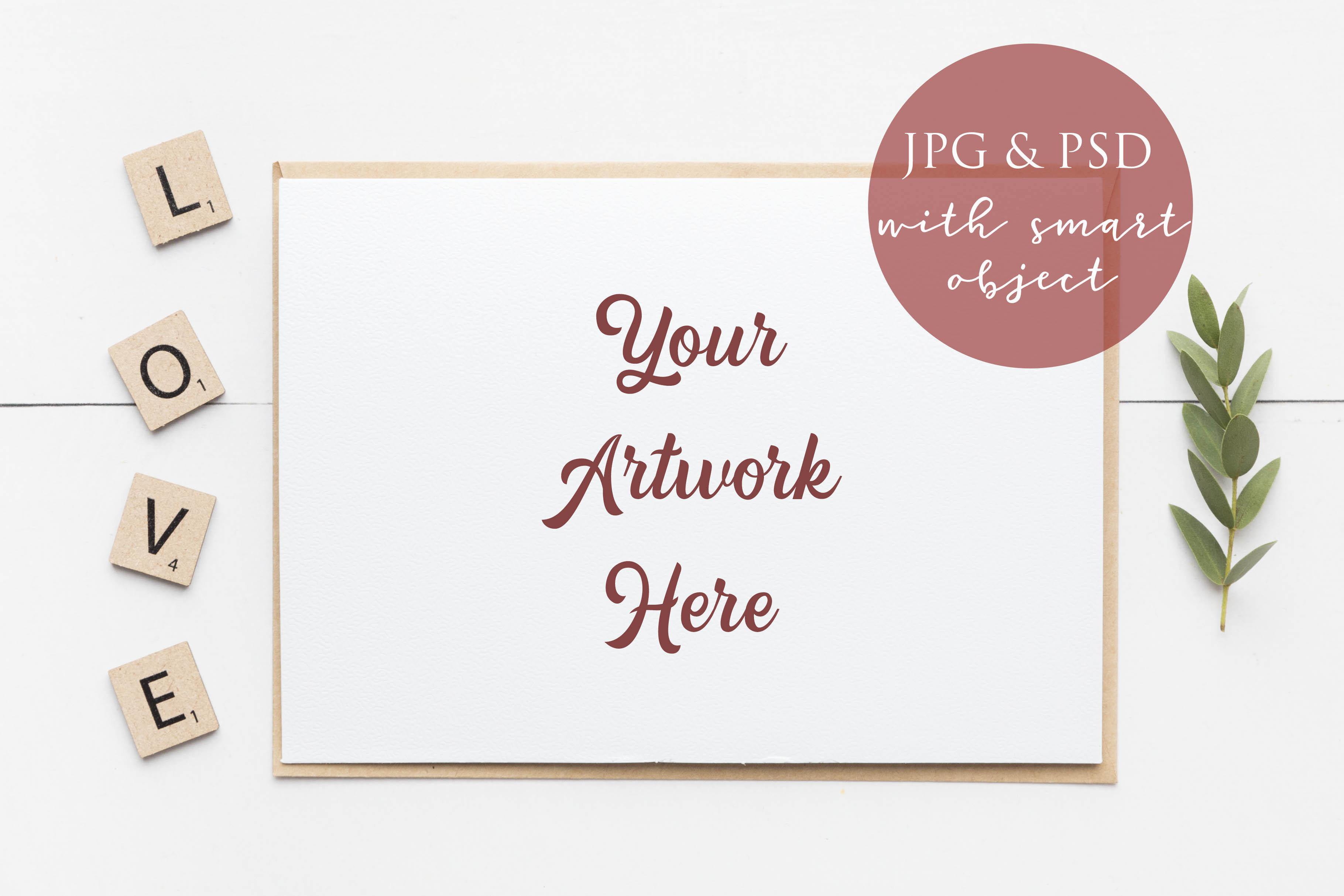 Bundle of 8 Mockups - Card, Frame and Mug Mockups example image 9