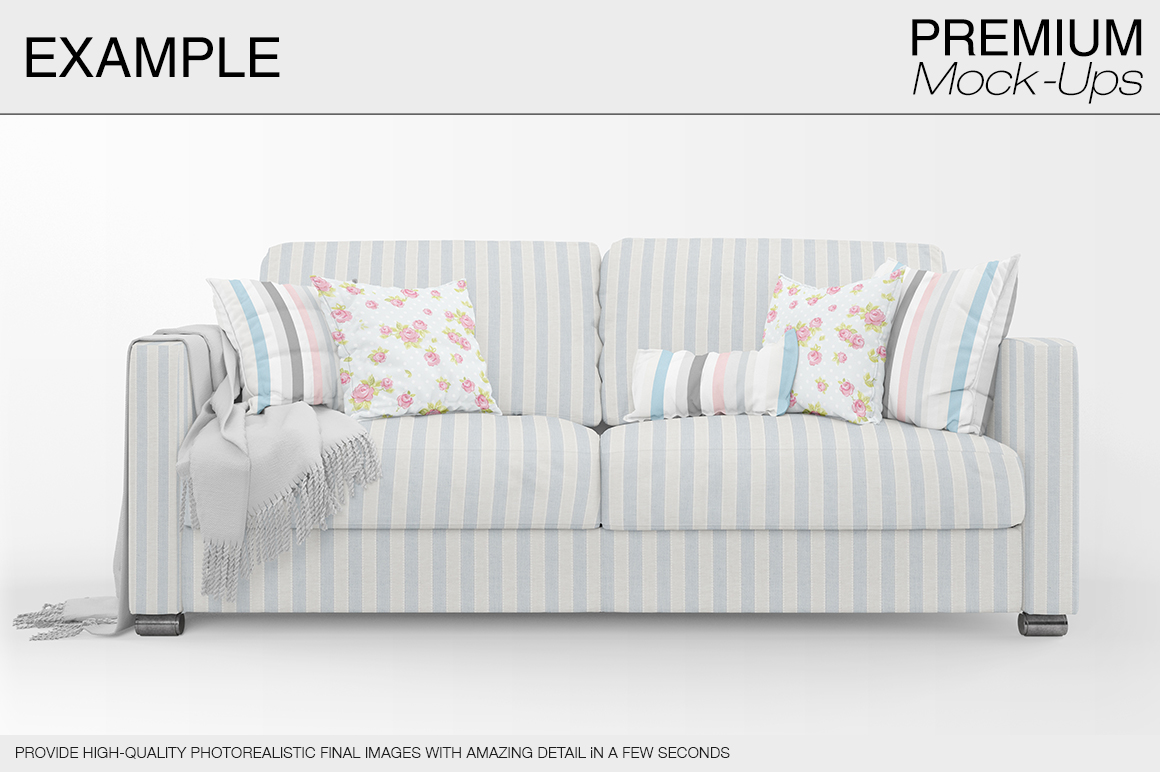 Sofa & Pillows Pack example image 2