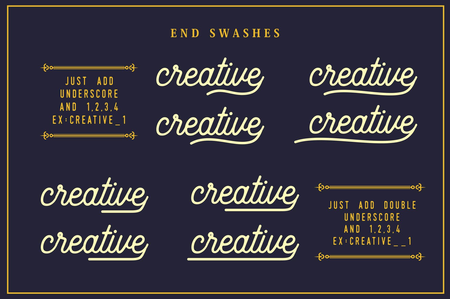 Beauty Script & Ornaments example image 4