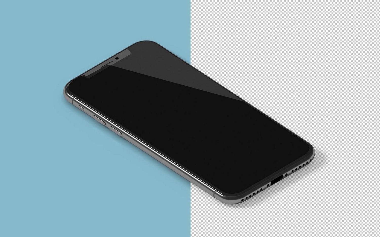 Isometric iPhone X Mockup example image 7