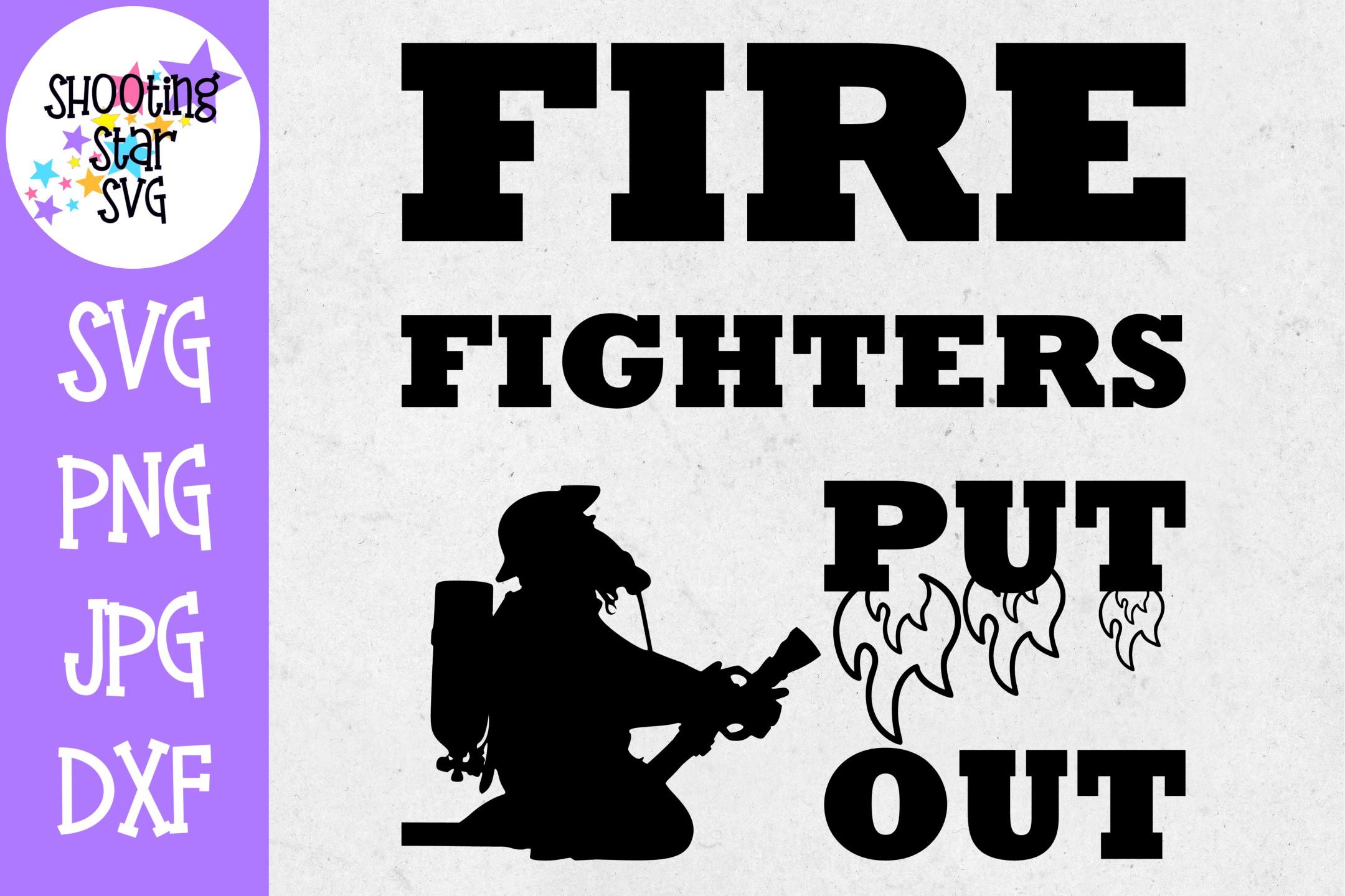Firefighter Shirt SVG Bundle - Firefighter SVG - Fire SVG example image 4