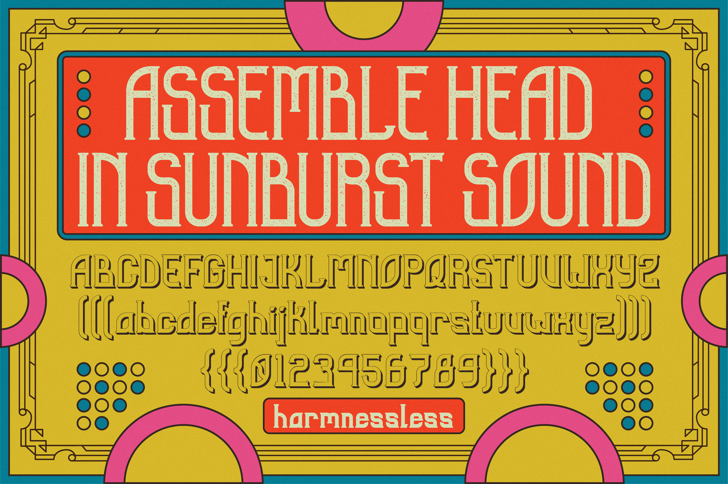 Sunblast Display Typeface example image 4