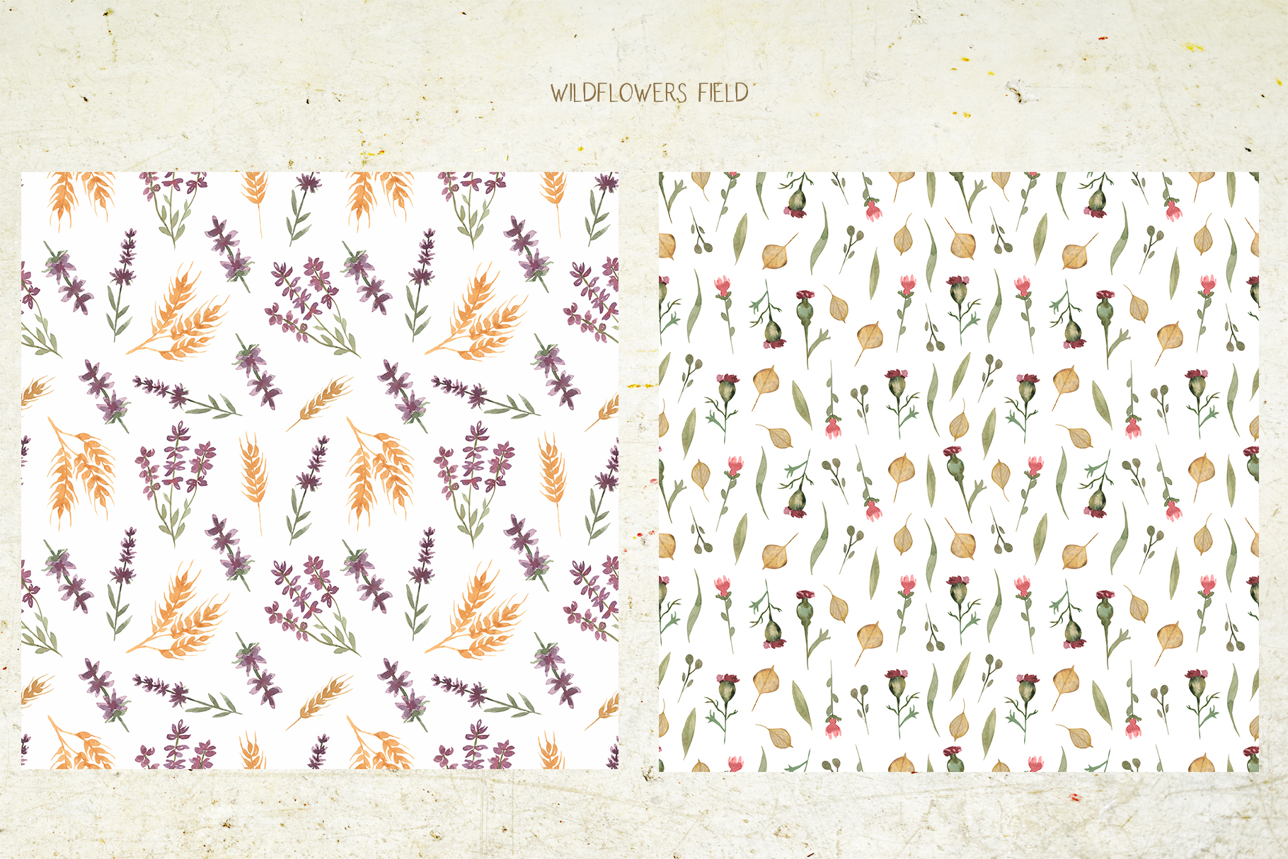Wildflowers field example image 7