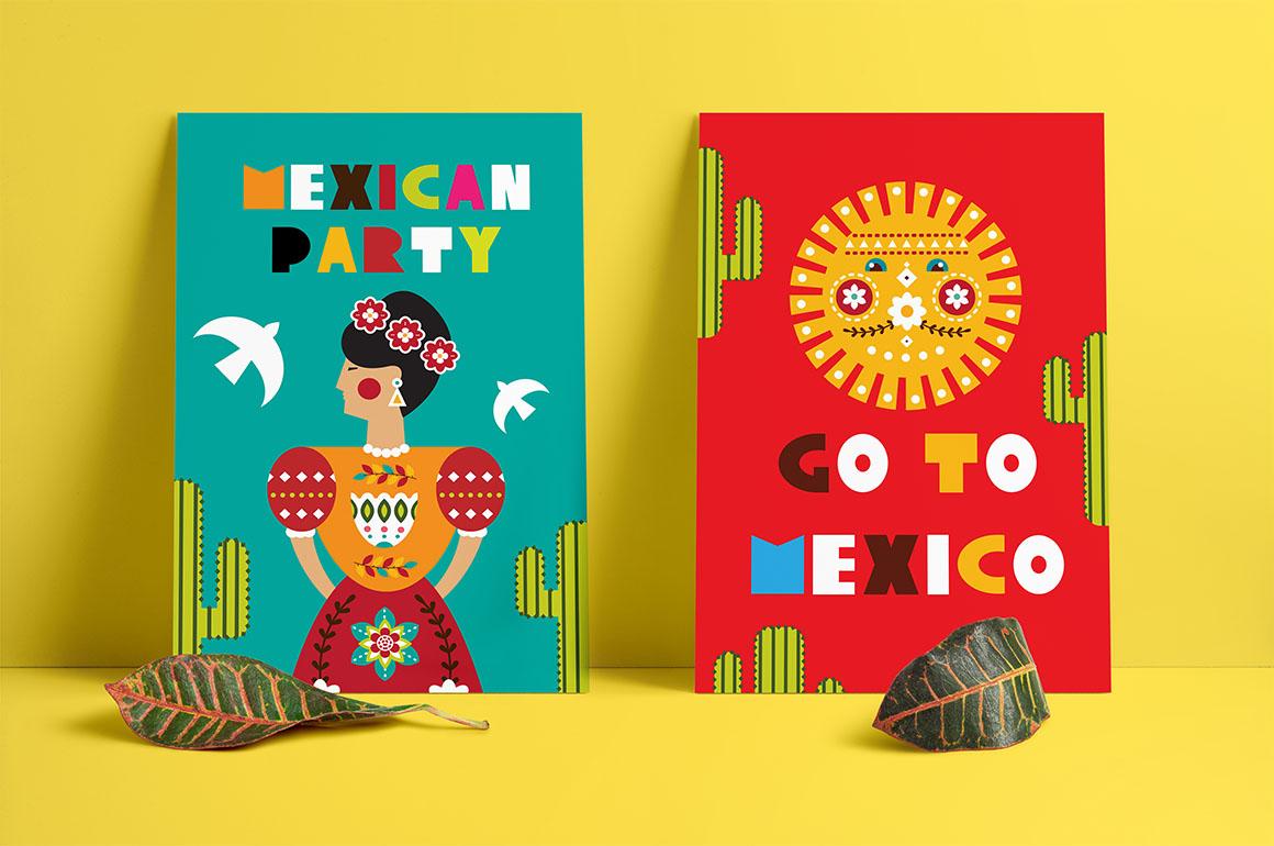 Frida - Mexican folk kit example image 9