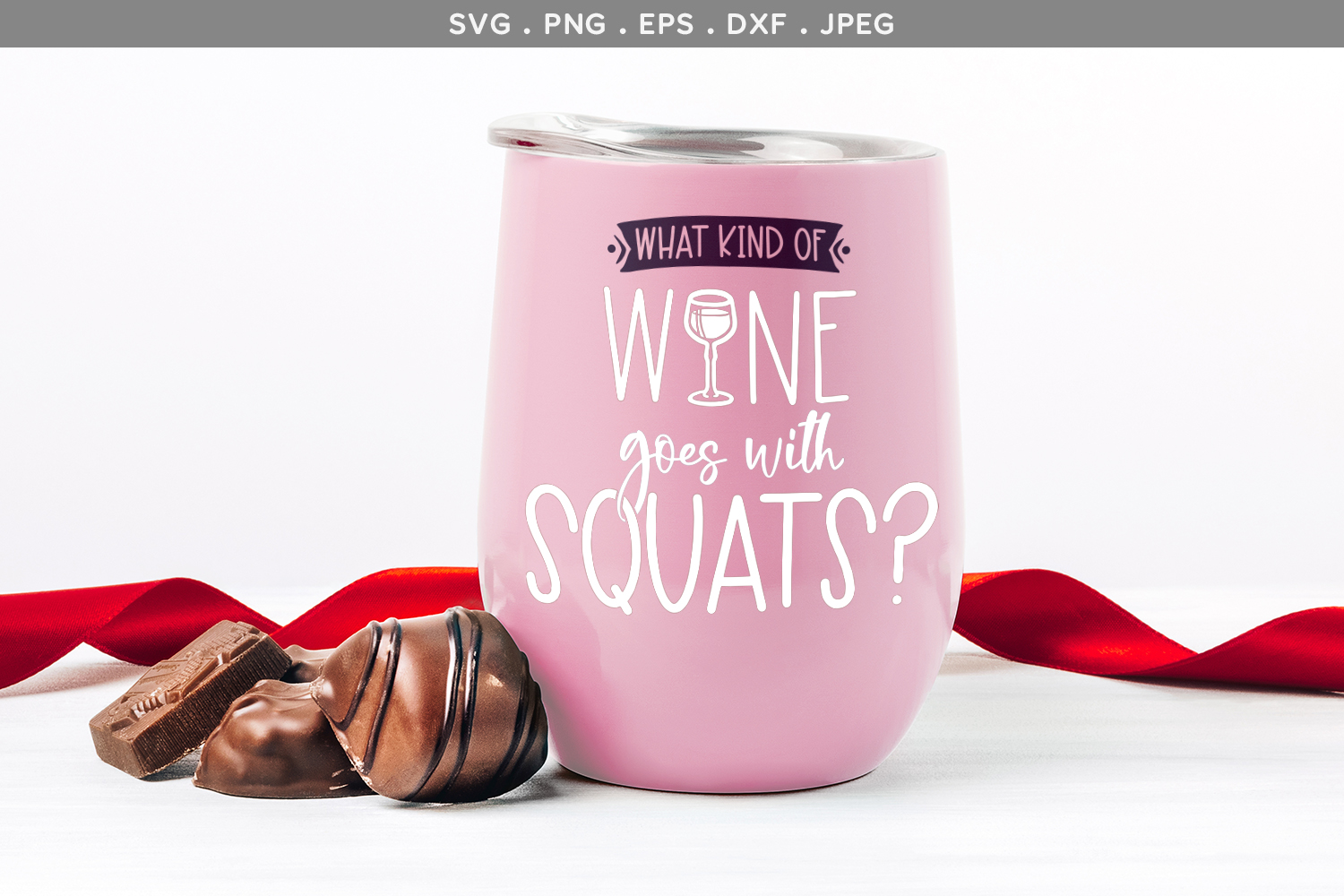 What kind of wine goes with squats? - svg, printable example image 1