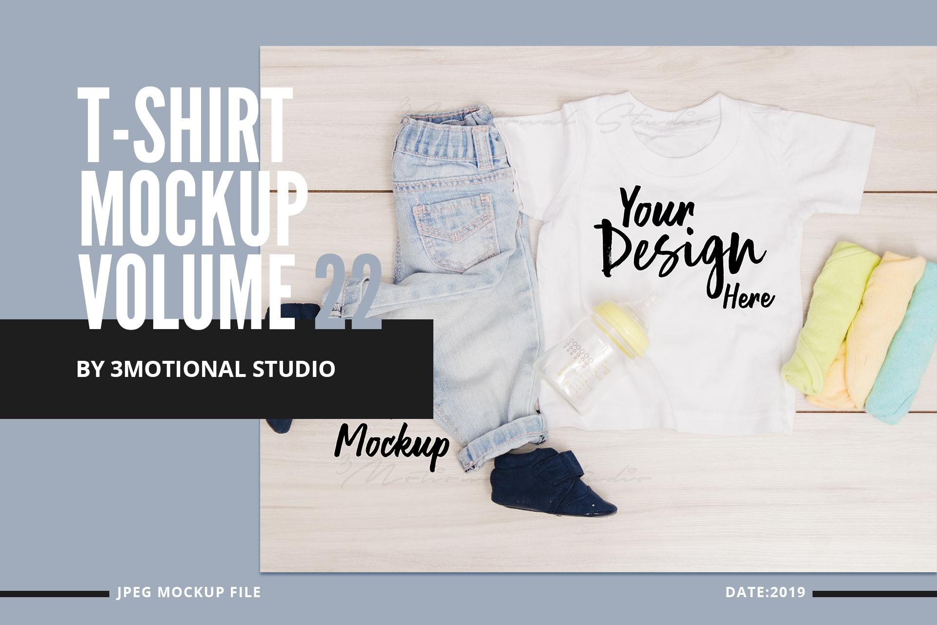 Neo T-Shirt Mockup Volume 22 example image 1