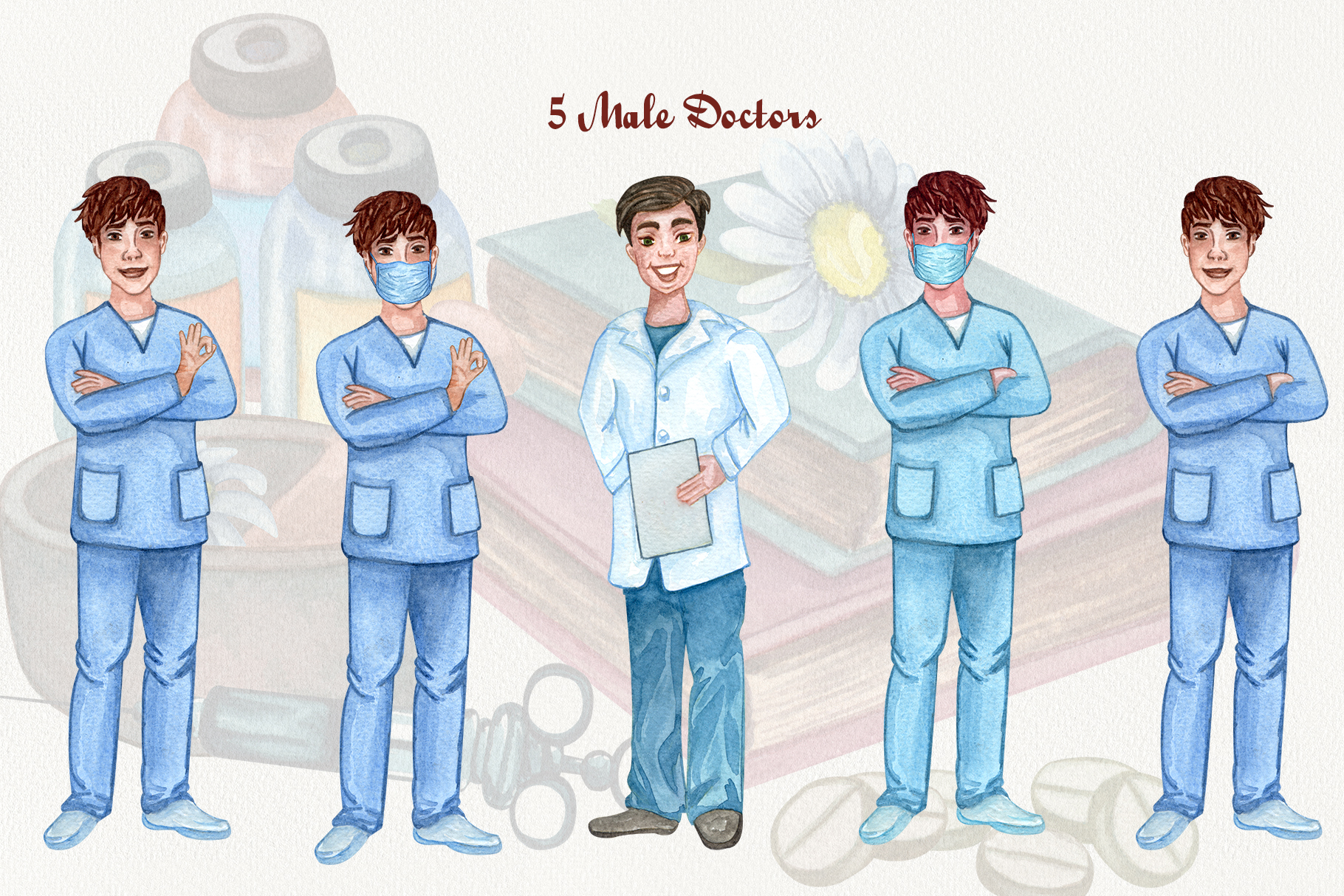 Pharmacy and Medical set example image 7