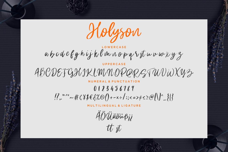 Holyson Calligraphy Brush example image 7