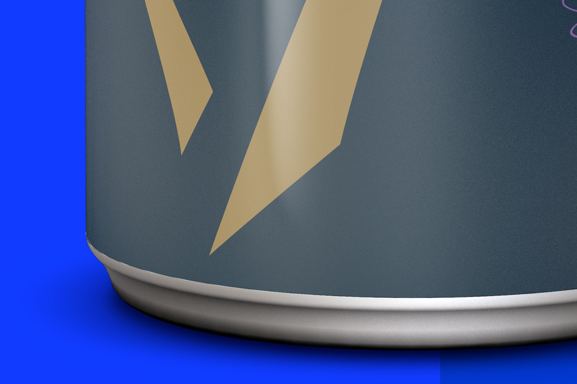 Glossy Aluminum Can Mockup 250ml example image 7