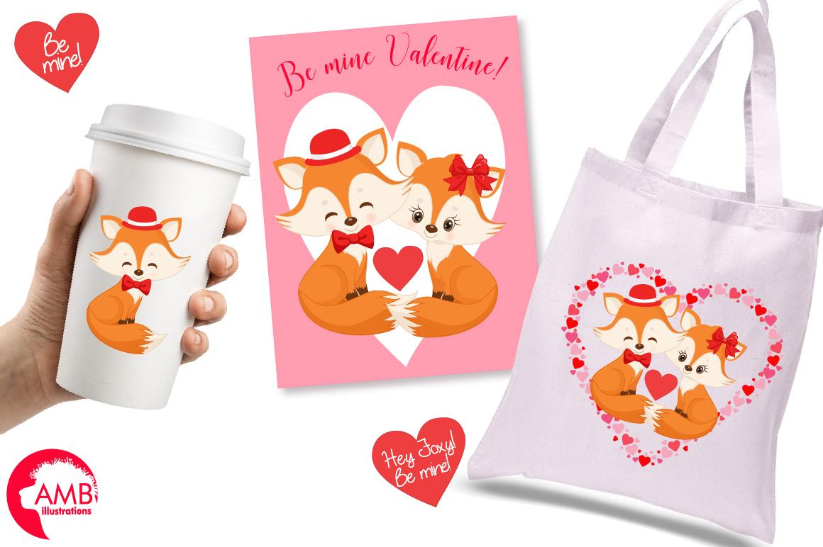 Valentine cliparts, graphics, illustrations AMB-1582 example image 2