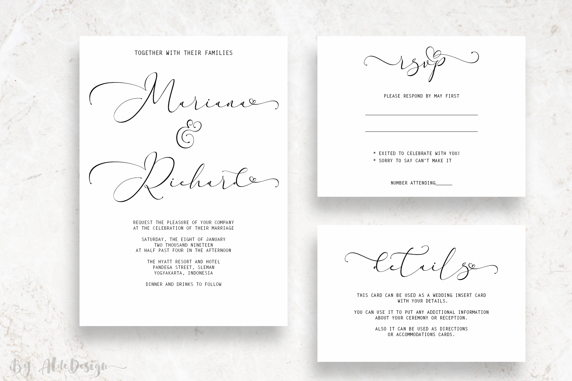 Everything Calligraphy - a Lovely Font example image 4