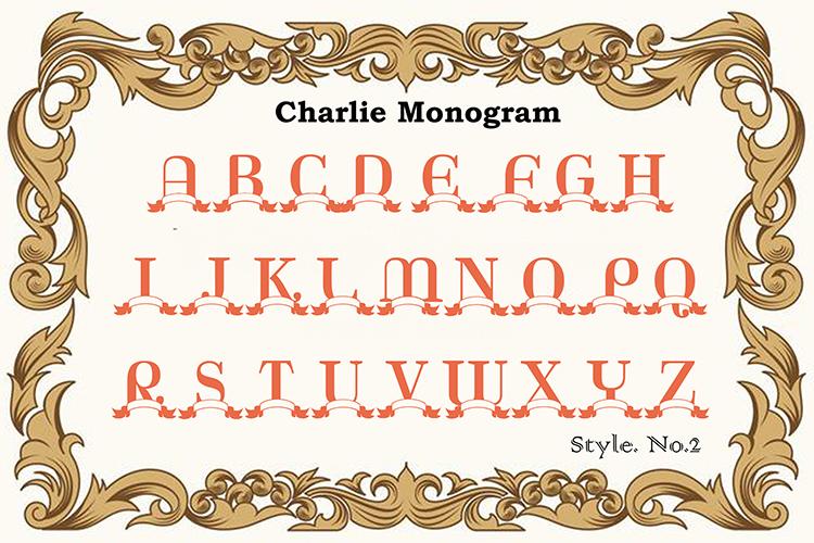 Charlie Monogram example image 7