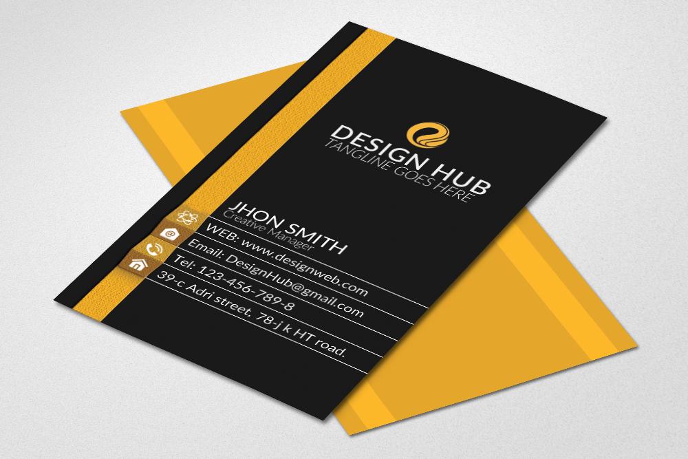 Vertical business cards by designhub719 design bundles vertical business cards example image 1 reheart Gallery