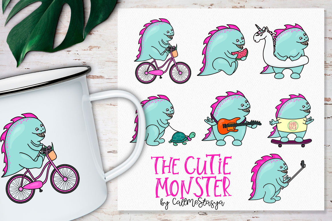 The Cutie Monster example image 5