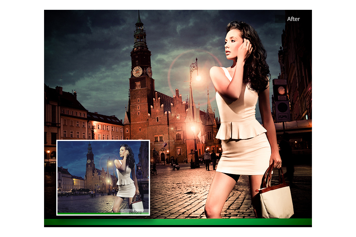 City Night Lightroom Presets example image 5