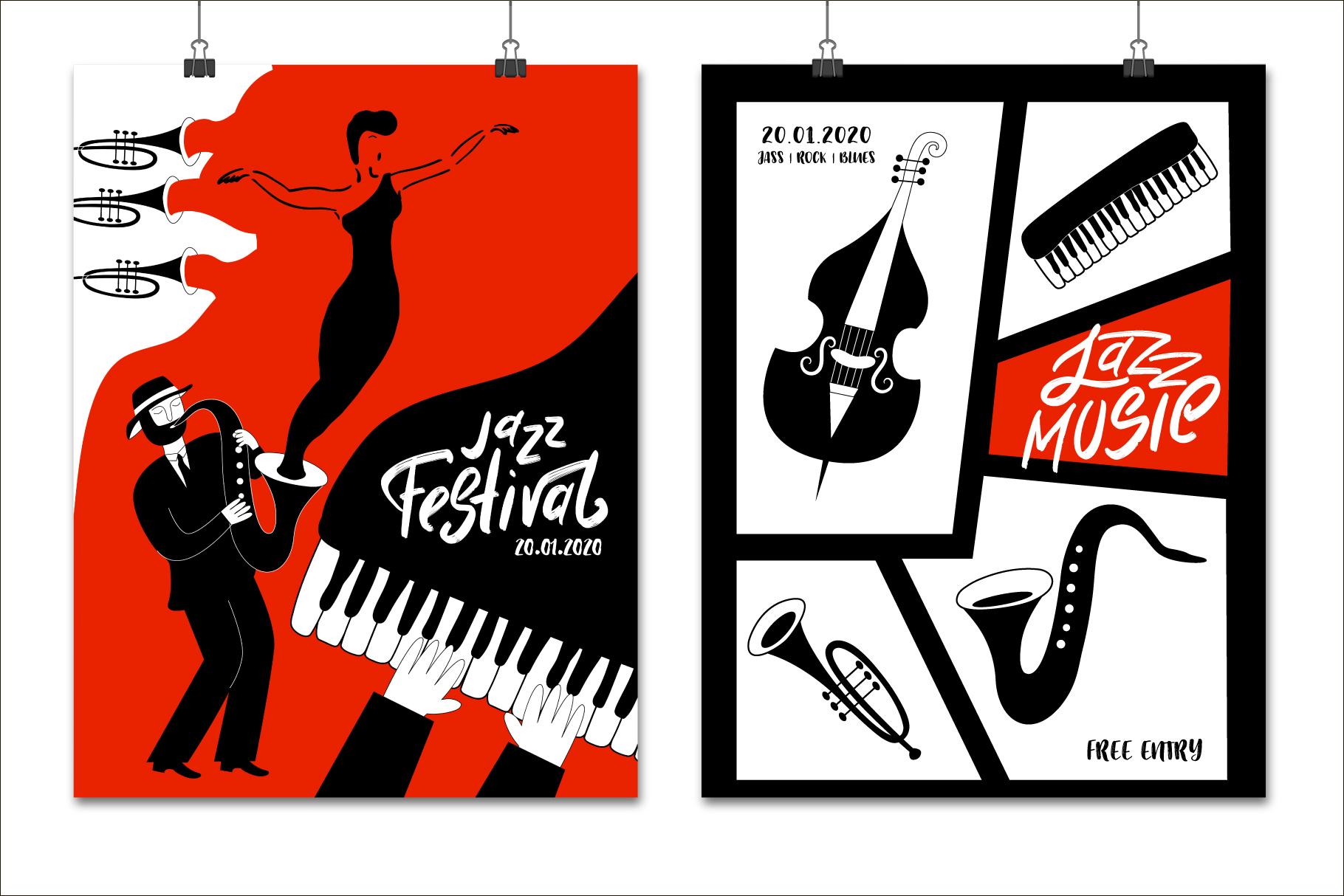 Modern jazz band example image 9