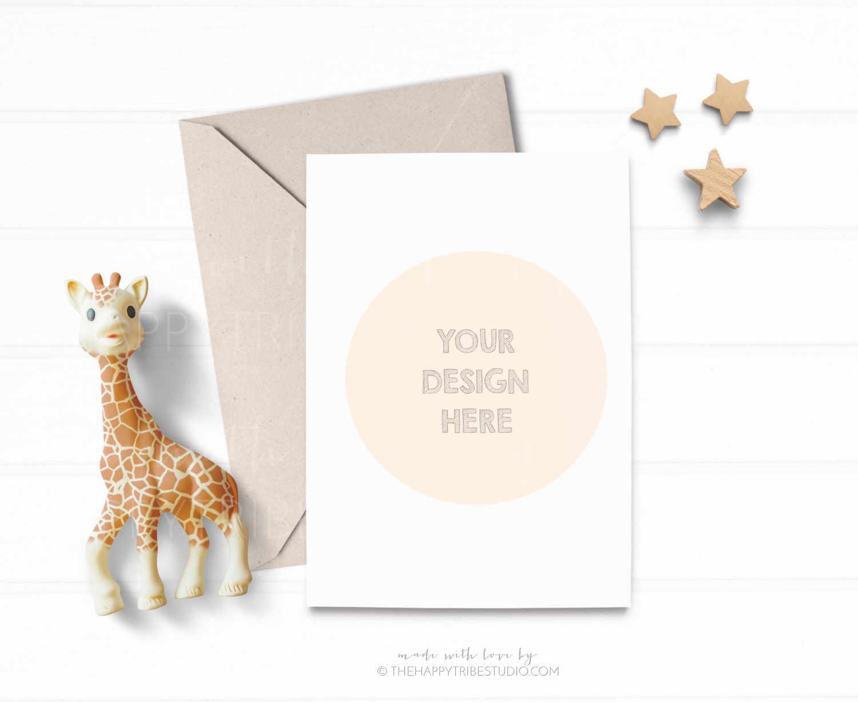 Card Mockup | Invitation Mockup | kids mockup example image 2