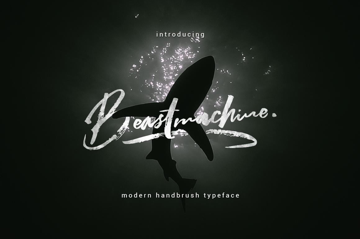 Beastmachine Typeface example image 1