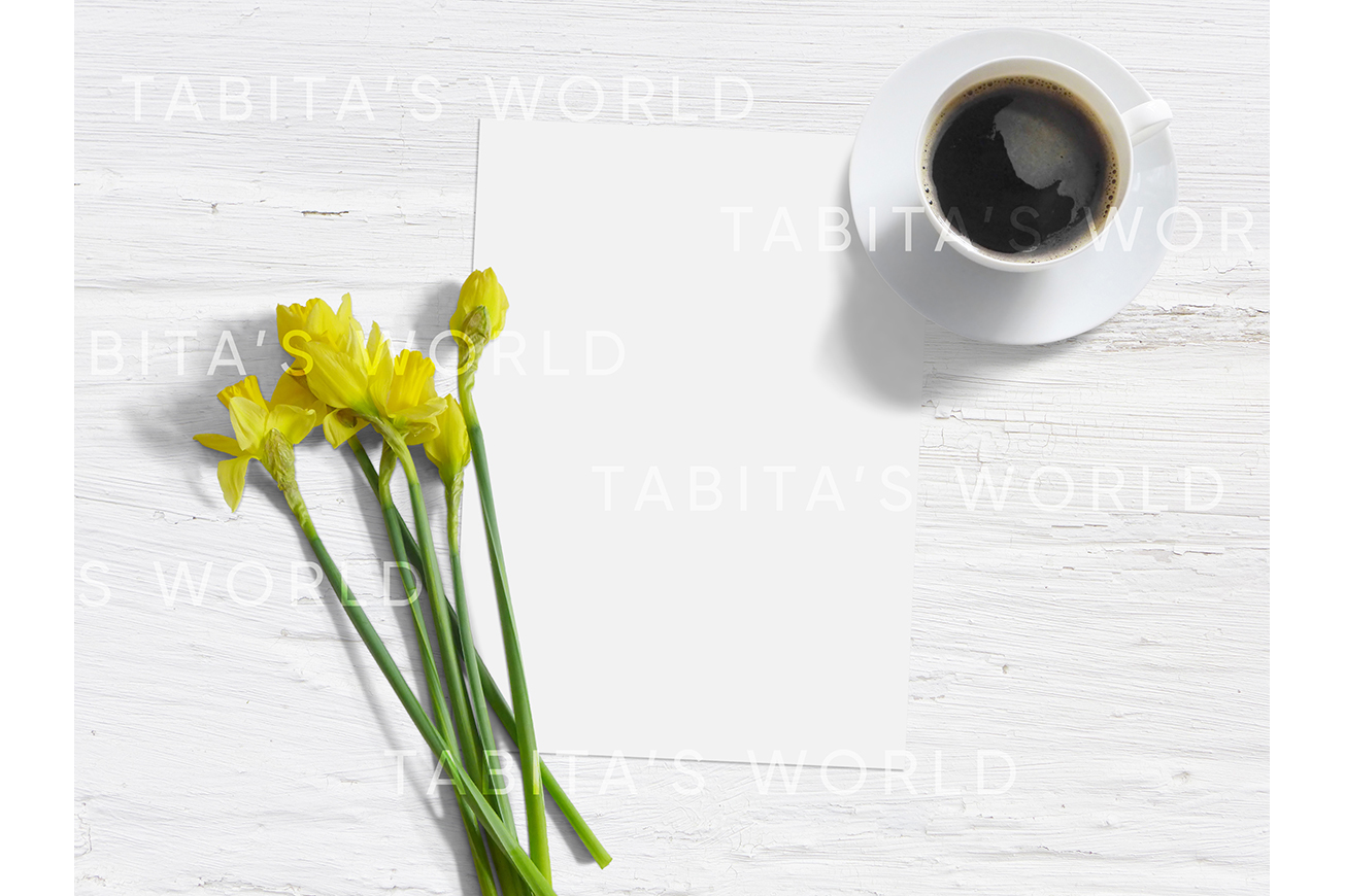 Spring card styled stock mockup example image 2