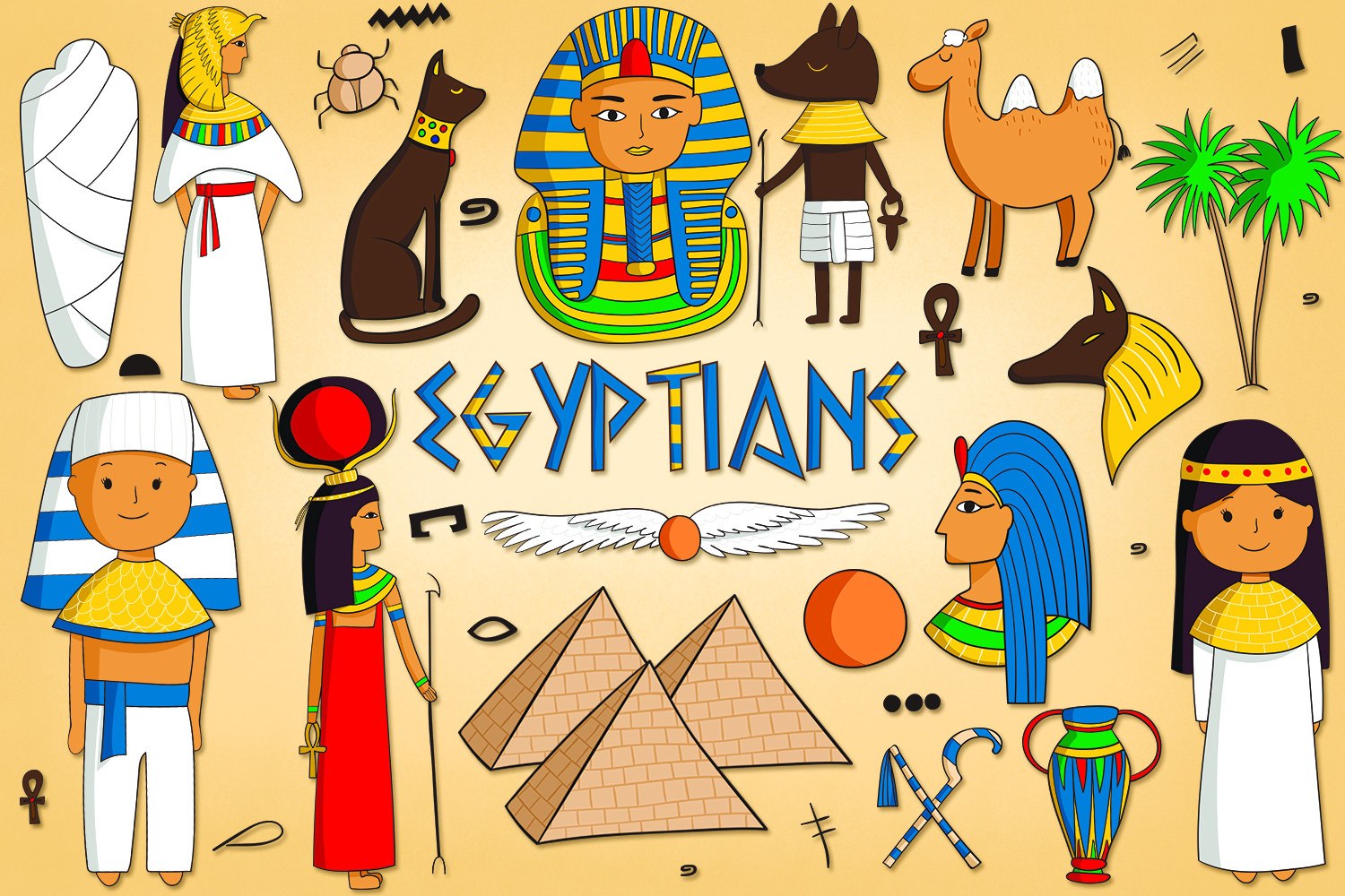 Egyptians  example image 1