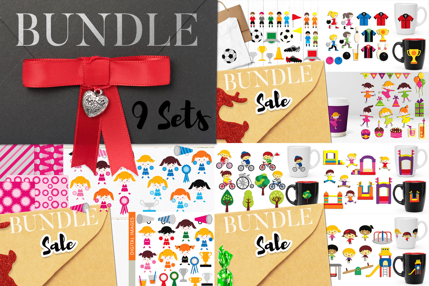 Back To School Clip Art Huge Bundle - Over 350 Graphics example image 5
