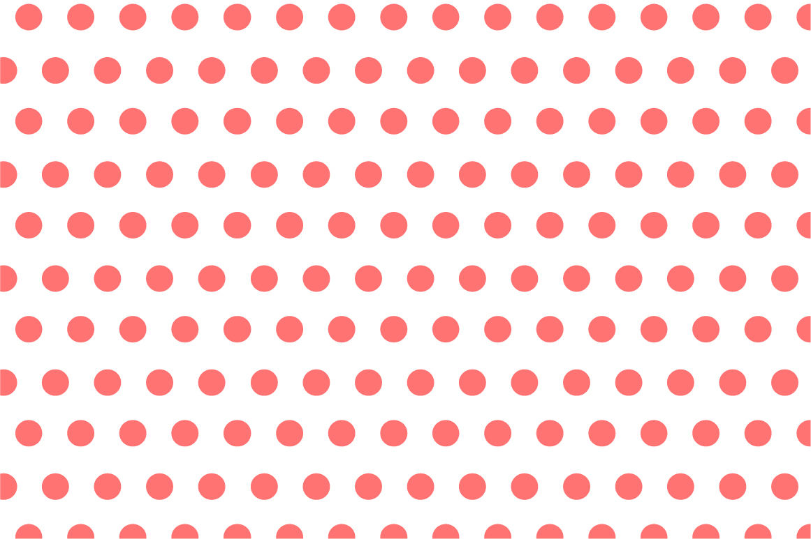 Dotted seamless patterns. Vector set example image 13