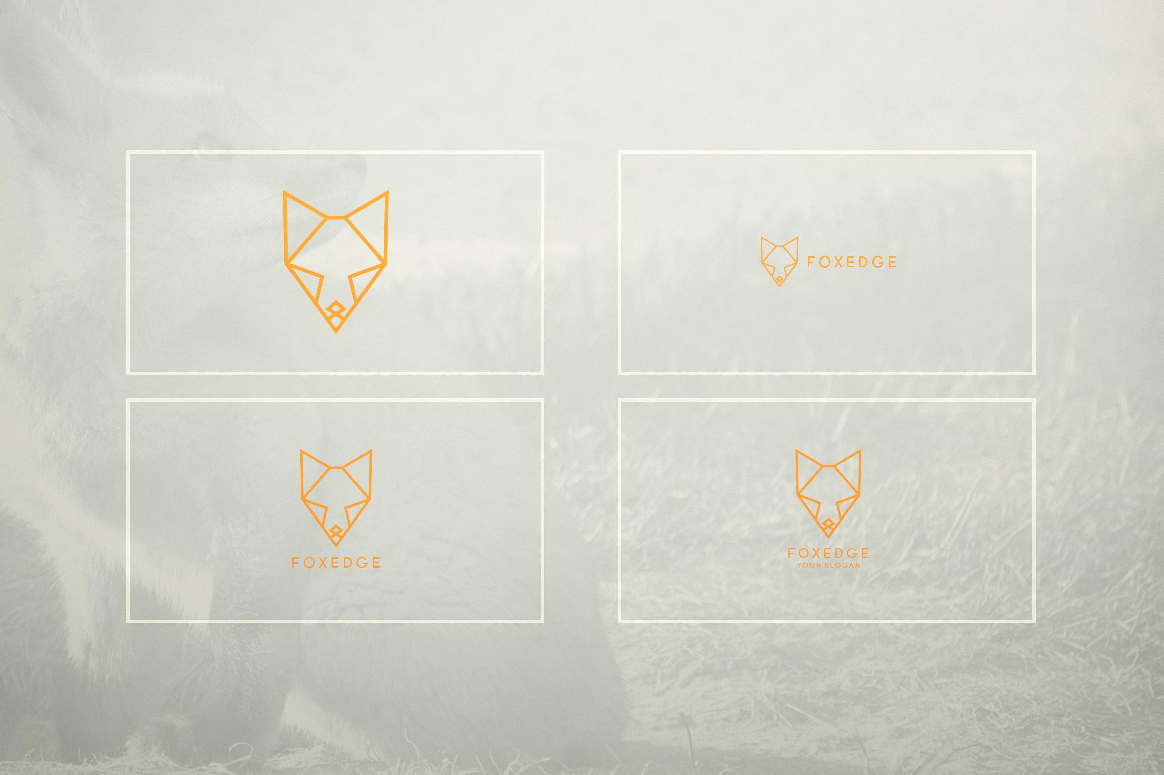 17 Geometric Animal Icons and Logos example image 18