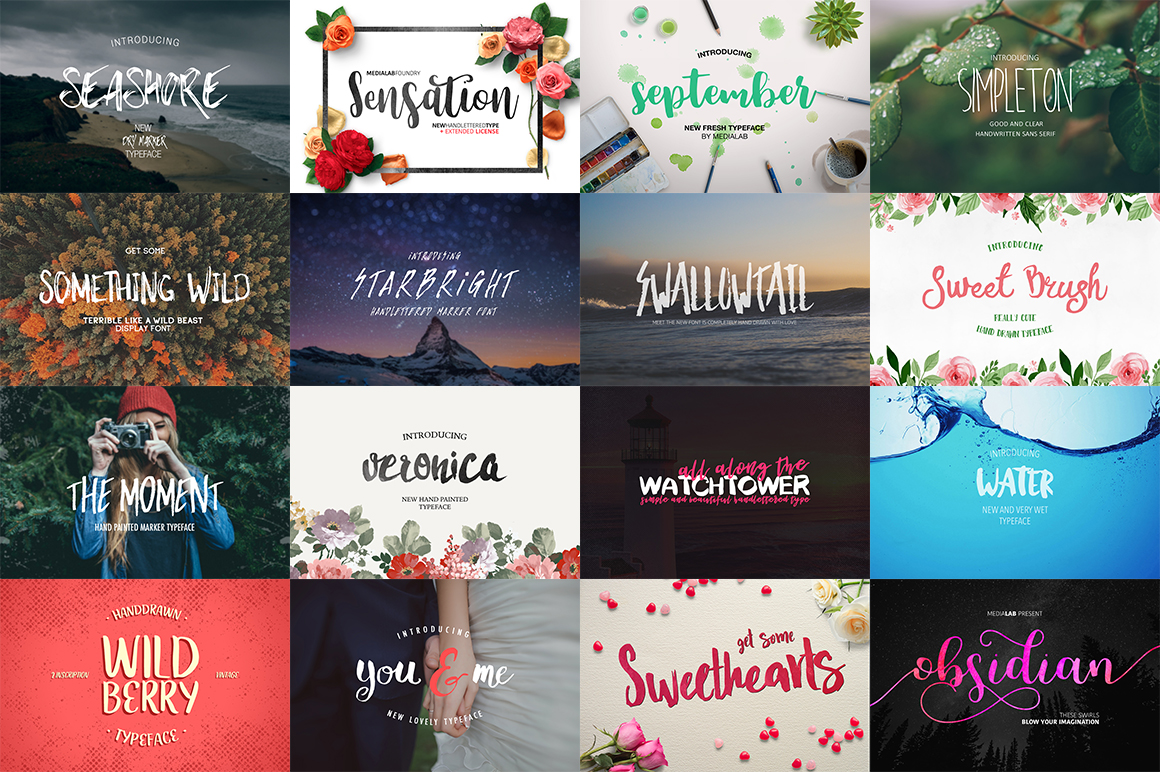109 in 1 BEST FONT BUNDLE example image 4