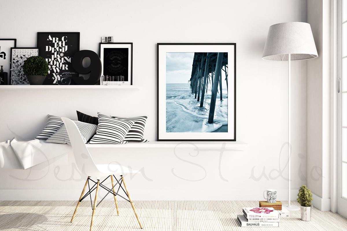 Styled Stock Photography, Scandinavian Frame mockup, PSD Styled Photography Mockup, stock photo example image 1