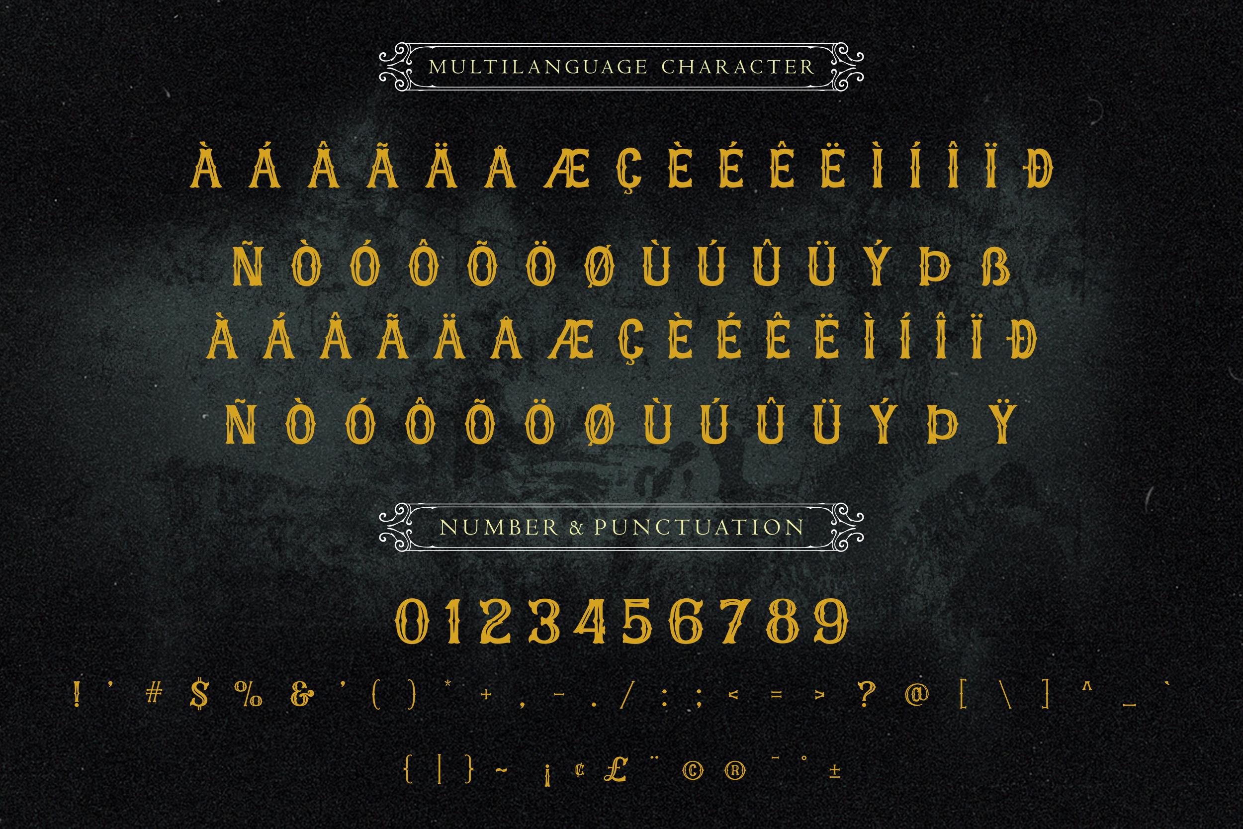 Castlefire Font example image 7