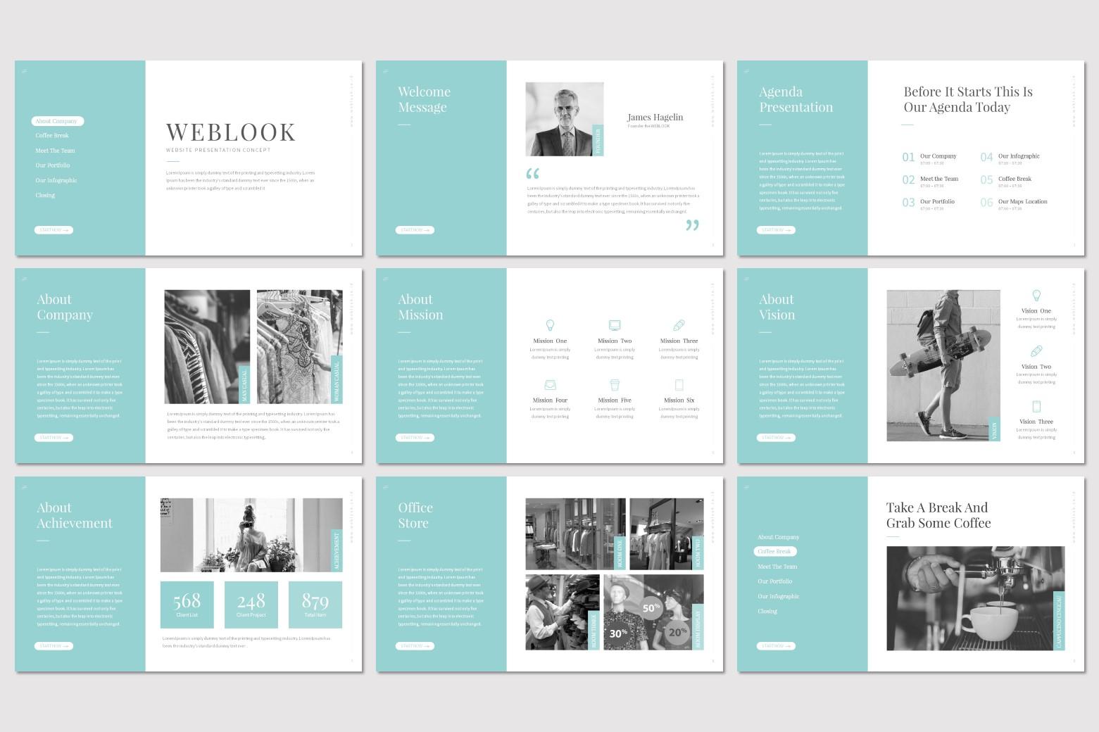 Weblook - Keynote Template example image 2