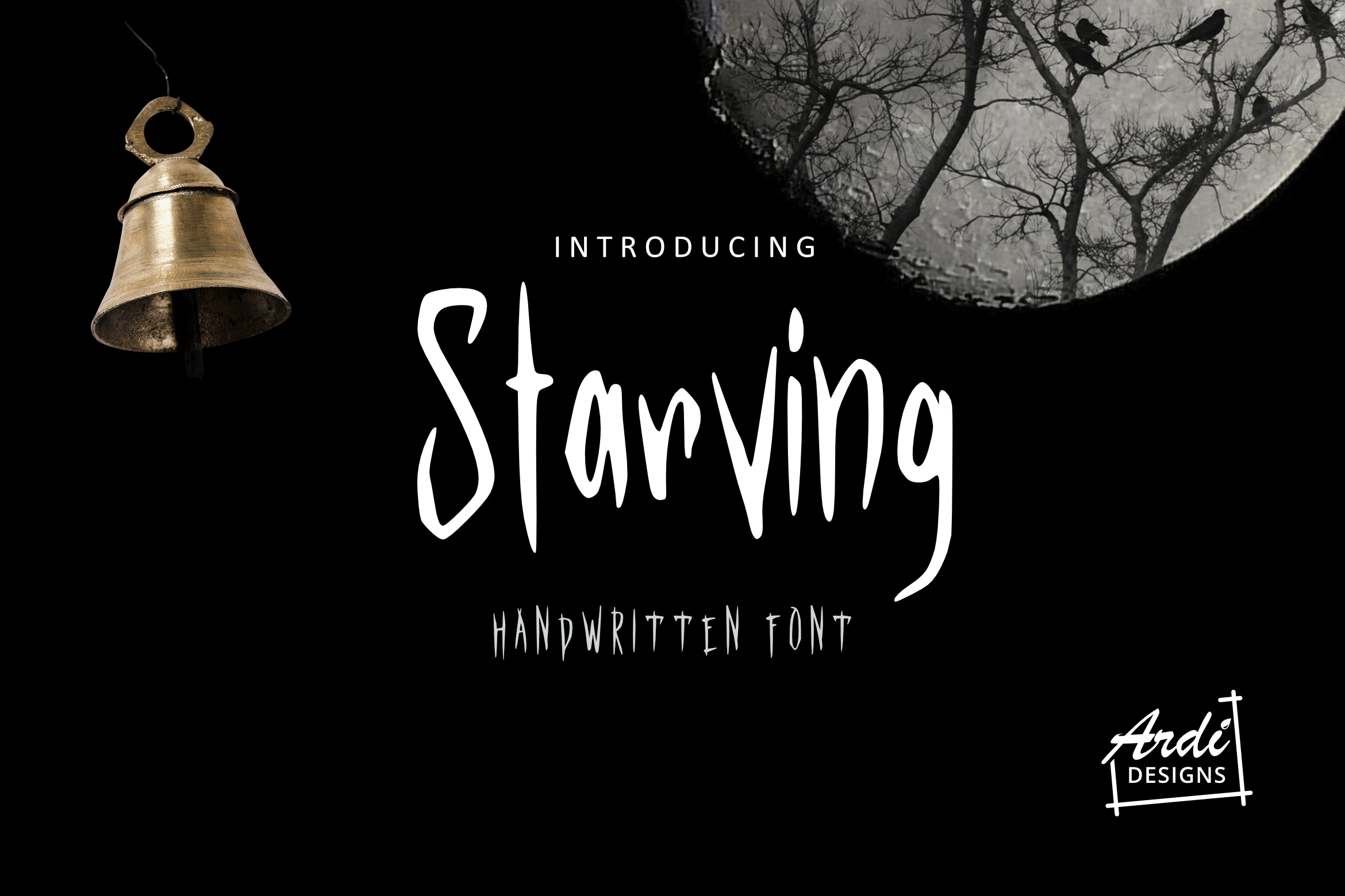 Starving Font example image 1