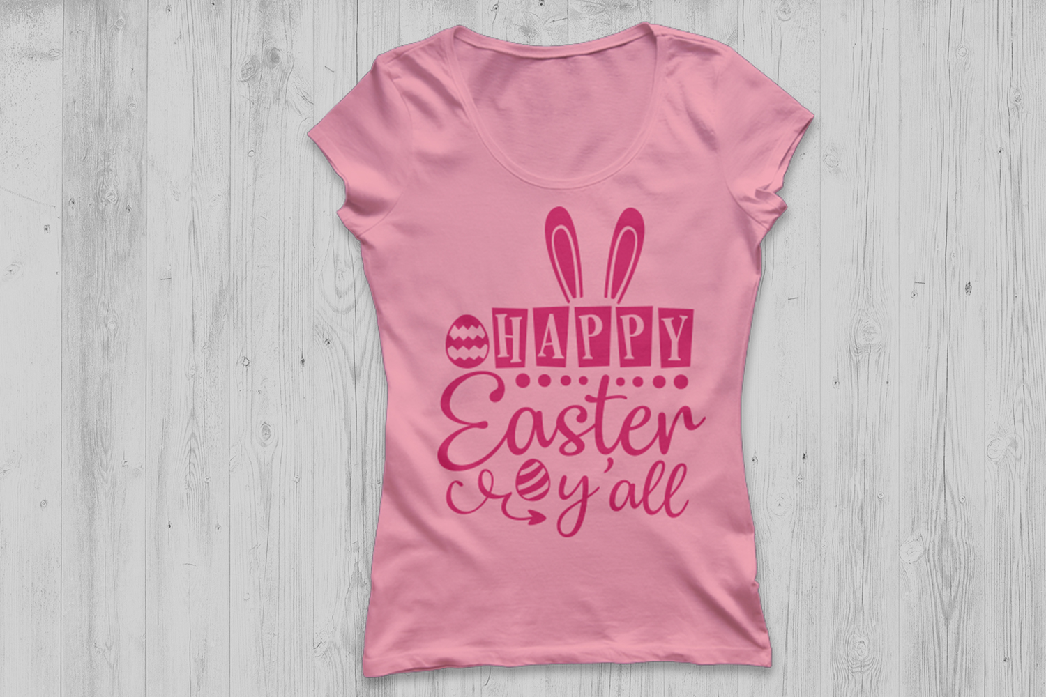 Happy Easter y'all svg, Easter svg, Easter Bunny svg. example image 2