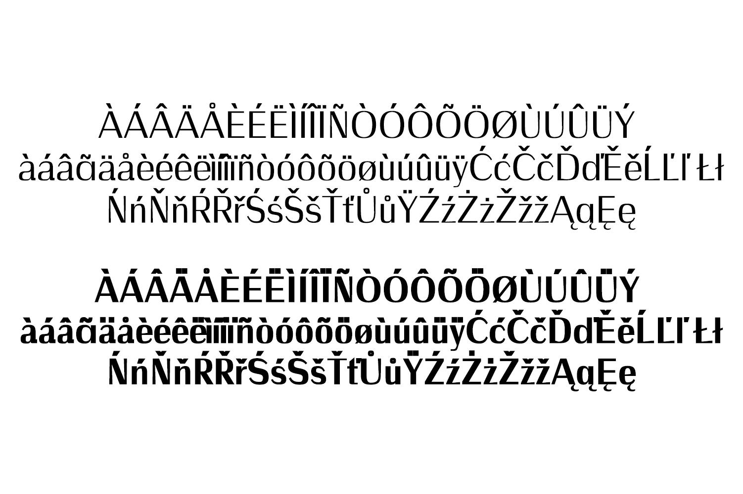Wrenn Sans Serif 6 Font Family example image 3